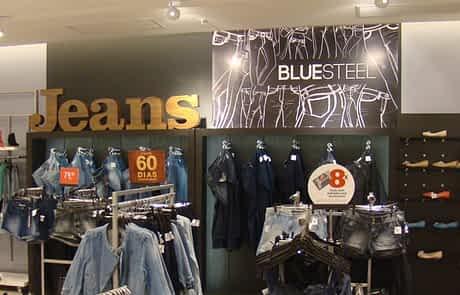 Sinalização de pdv - Jeans