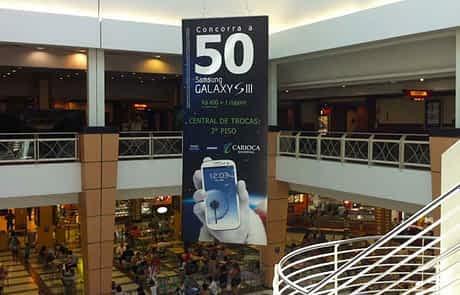 Sinalização de Shopping - Megabanner