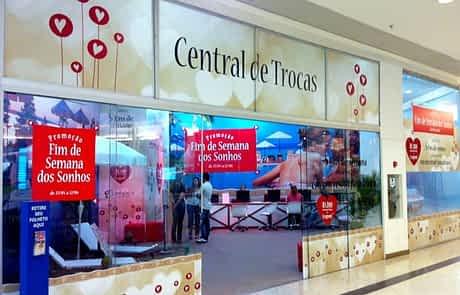 Sinalização de Shopping - lojas